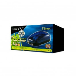 Boyu - Compressor de Ar Aquatic Animal Air Pump S-2000A (2X4L/min)