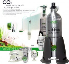 Ista -  CO2 Aluminium set - 0,5L