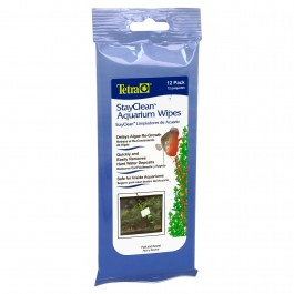 Tetra StayClean Aquarium Wipes - 12 Lenços