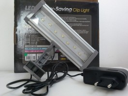 Ista - Luminária Led energy - Saving Clip Light 21cm white - 110V